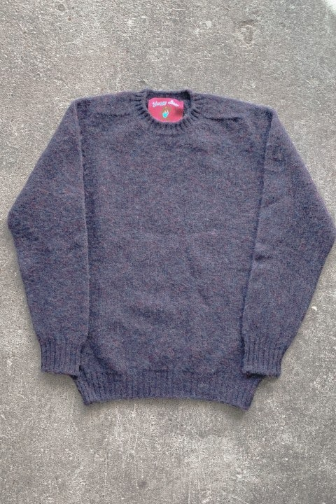Howlin' Shaggy Bear Sweater Phantom