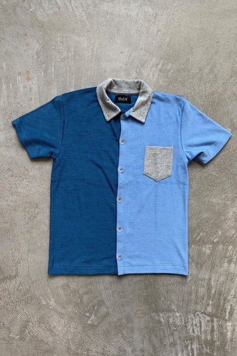 Howlin' Crystal Clear Shirt Ocean Blue