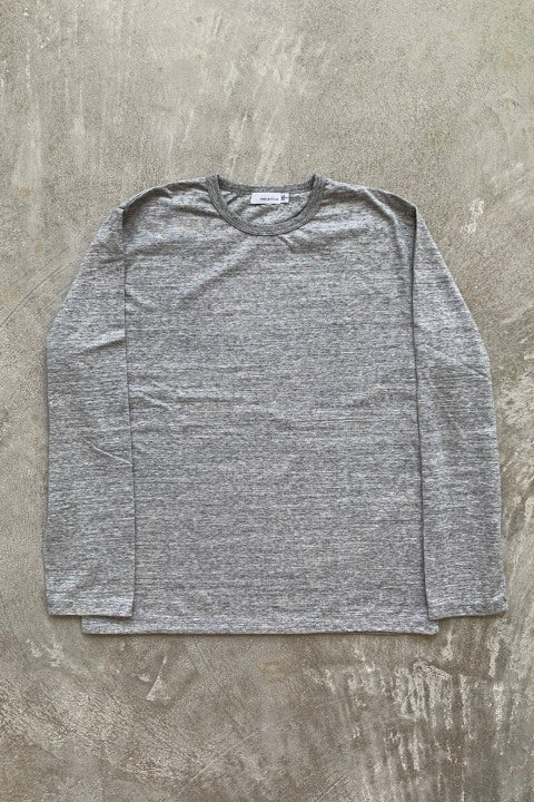 Nanamica Coolmax Jersey LS Tee Gray