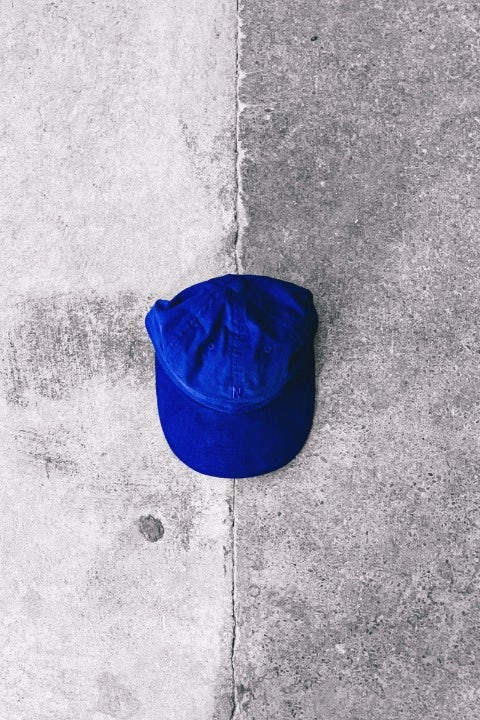 Norse Projects Baby Corduroy Sports Cap Ultra Marine
