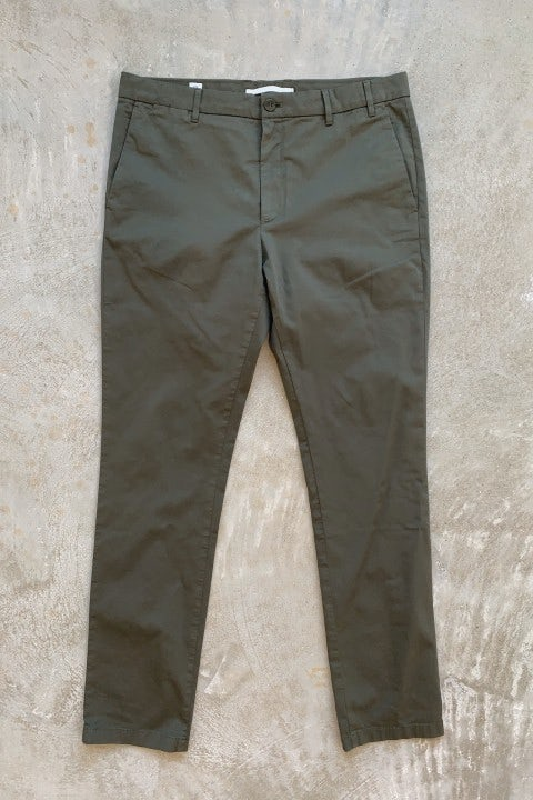 Norse Projects Aros Slim Stretch Pants Ivy Green