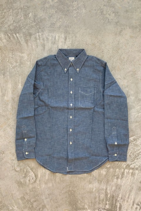 Orslow Button Down Shirt 84 Chambray