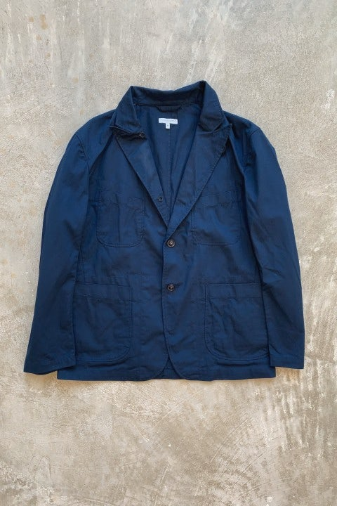 Engineered Garments Bedford Jacket Navy 6.5oz Flat Twill