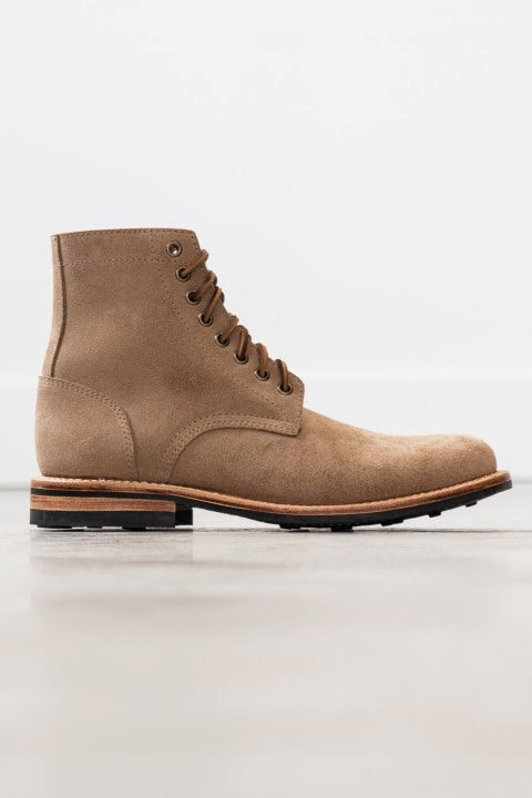Oak Street Bootmakers Trench Boot Natural Rough-Out