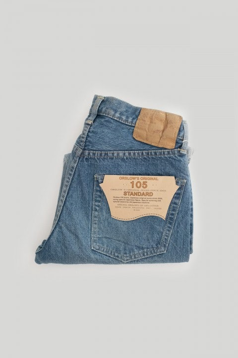 Orslow 105 Denim 84-K Two Year Wash