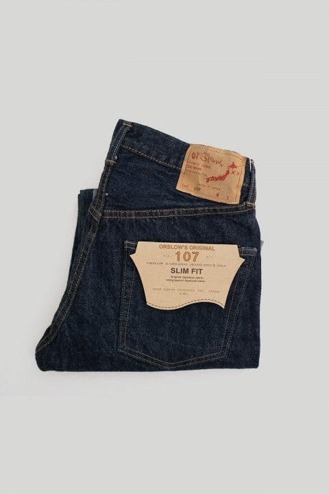 Orslow 107 Denim 81-K One Wash