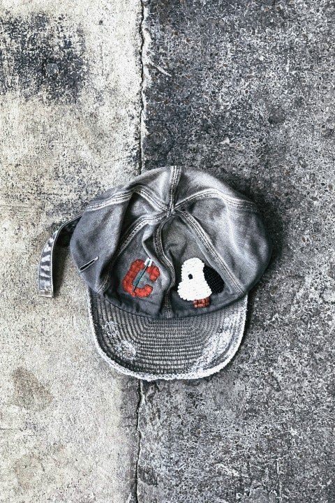 Kapital Cotton KOLA Cap (ZUNI) Grey