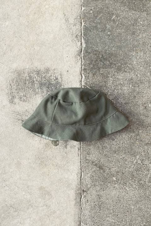 Whim Reversible Bucket Hat Green & Grey