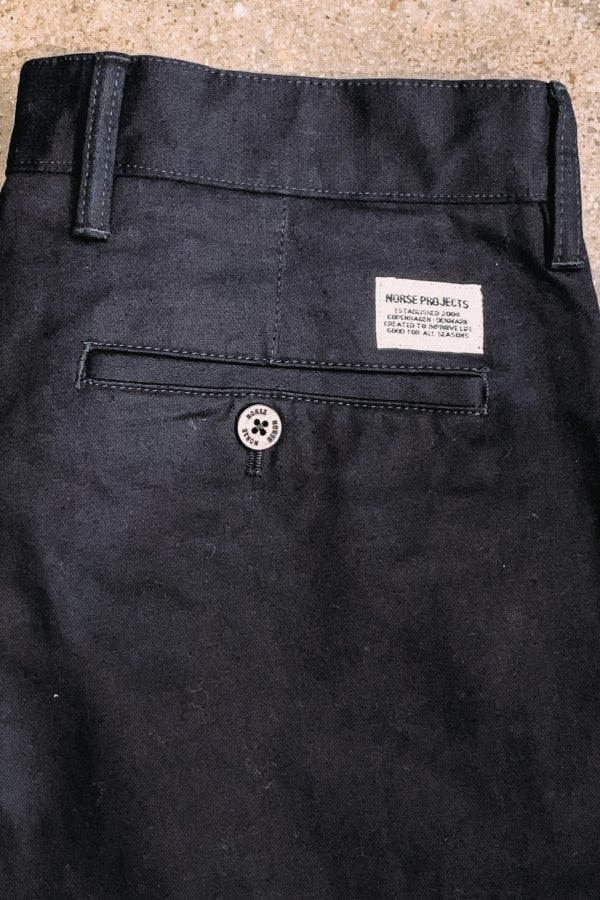 Norse Projects Pant Aros Heavy Dark Navy